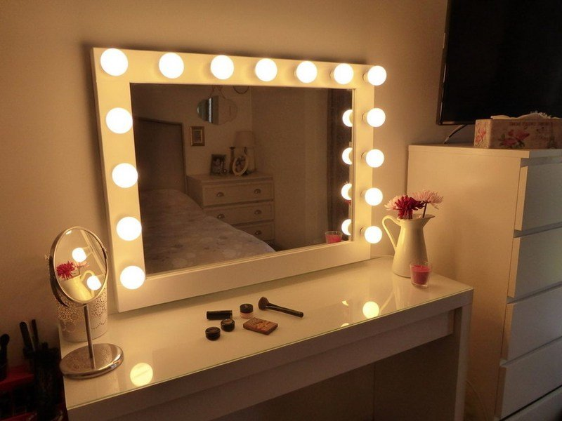 Best Vanity Set With Lights Makeup Vanity Mirror With Lights With Pictures