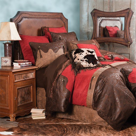 Best Red Rodeo Bedding Collection With Pictures