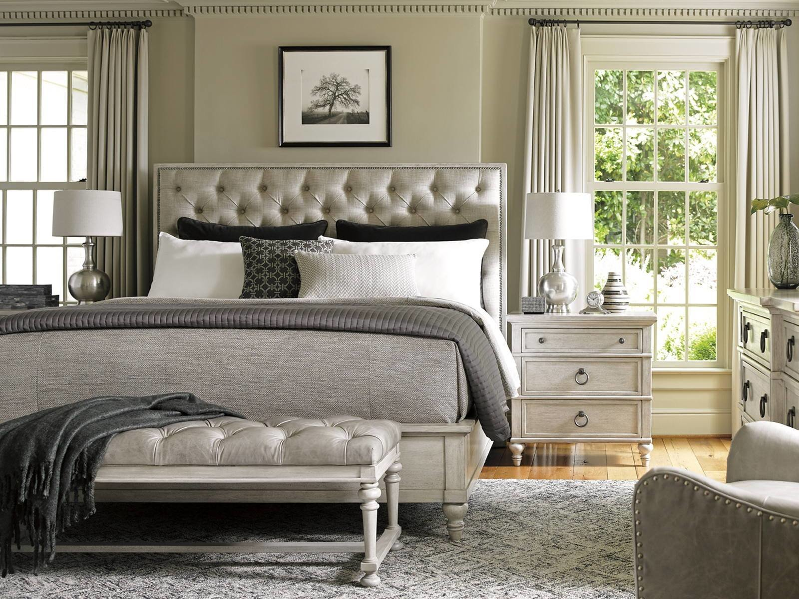 Best Lexington Oyster Bay 4 Piece Sag Harbor Tufted Upholstered With Pictures