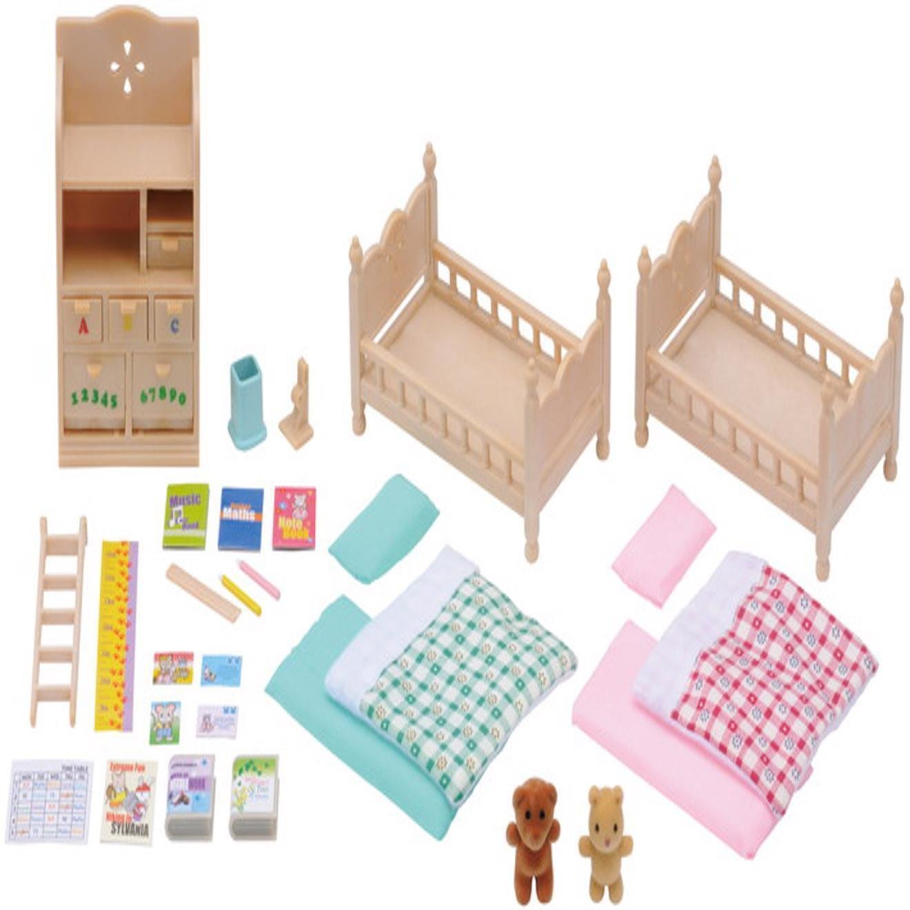 Best Sylvanian Families Childrens Bedroom Set Sf4254 With Pictures