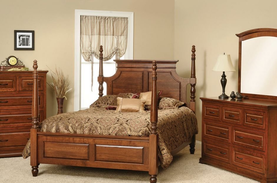 Best Oxford Classic Bedroom Furniture Set Countryside Amish With Pictures
