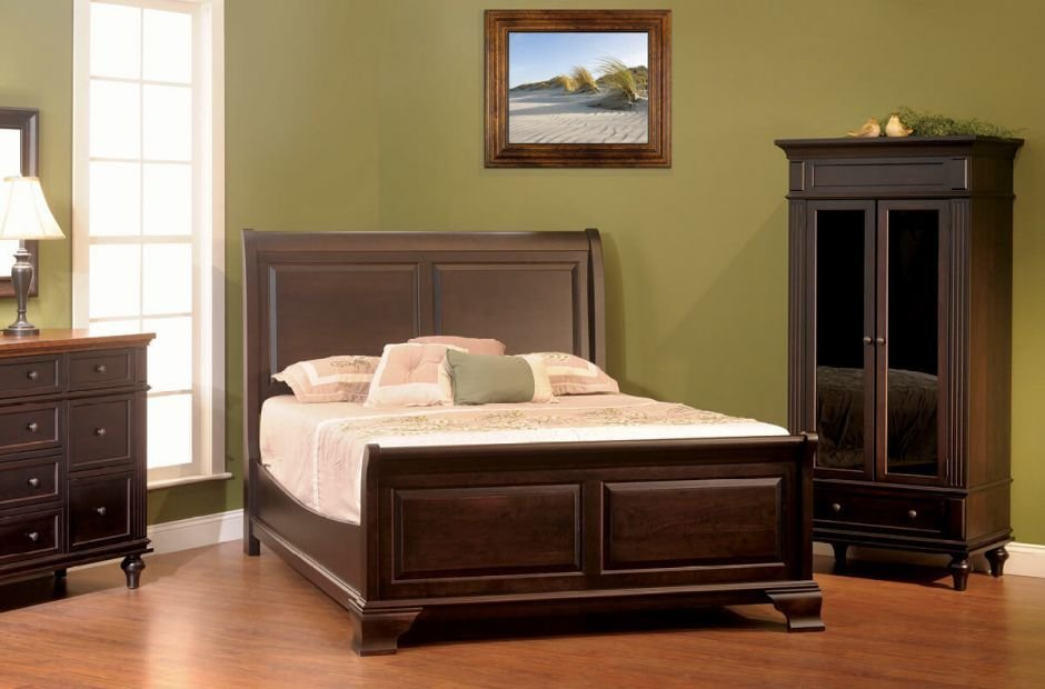 Best Alexandria Luxury Bedroom Set Countryside Amish Furniture With Pictures