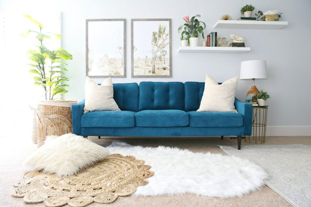 Best Modern Ranch Reno Master Bedroom Sofa Classy Clutter With Pictures