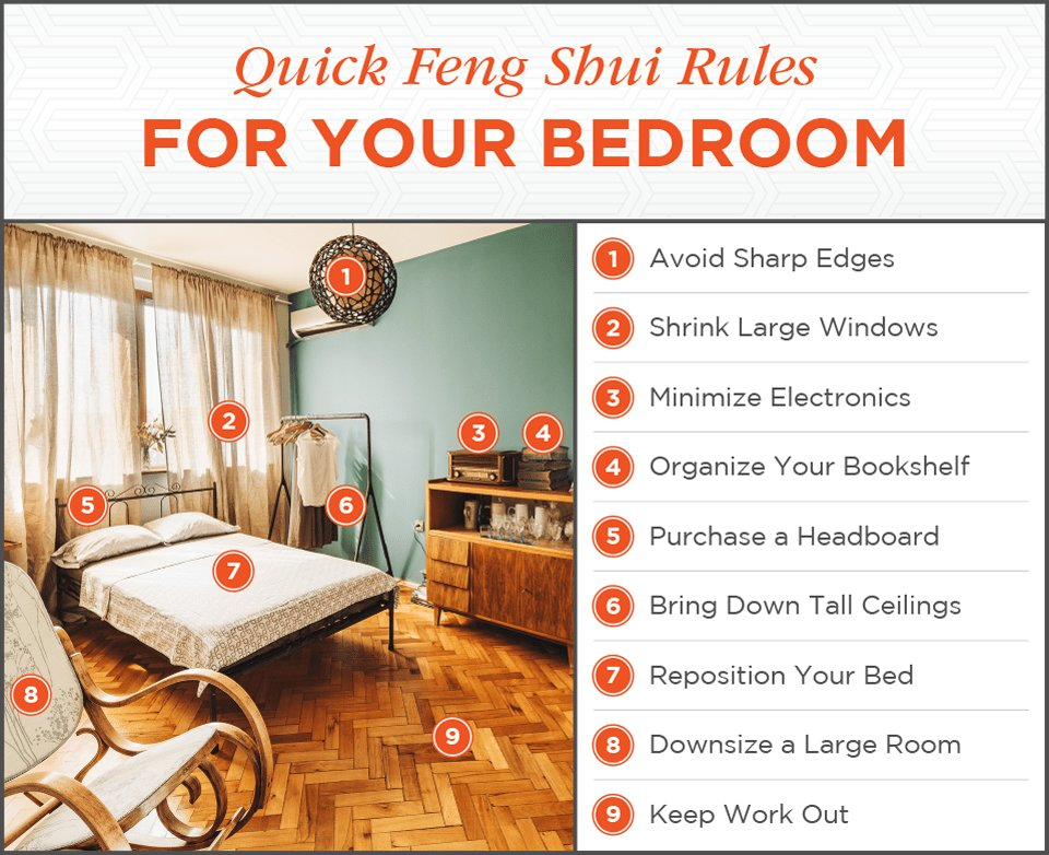 Best Feng Shui Bedroom Design The Complete Guide Shutterfly With Pictures
