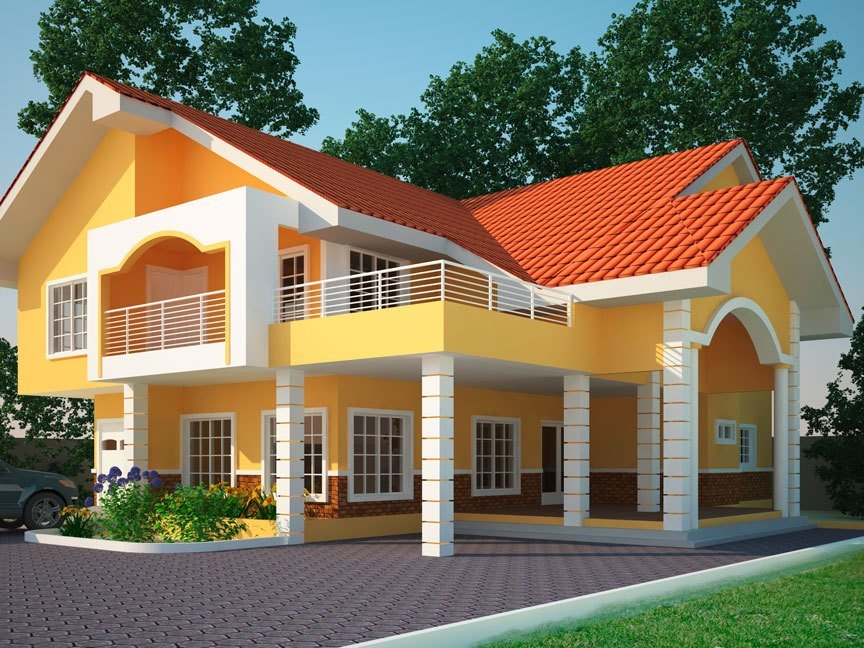 Best House Plans Ghana Yaw 4 Bedroom House Plan In Ghana For Sale With Pictures