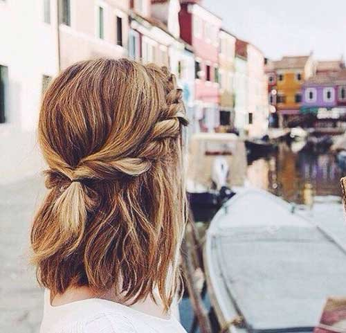 Free 25 Cute And Easy Hairstyles For Short Hair Wallpaper