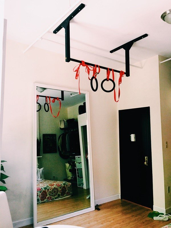 Best New York City Apartment Pull Up Bar Loft Home Gym Stud Bar Ceiling Or Wall Mounted Pull Up Bar With Pictures