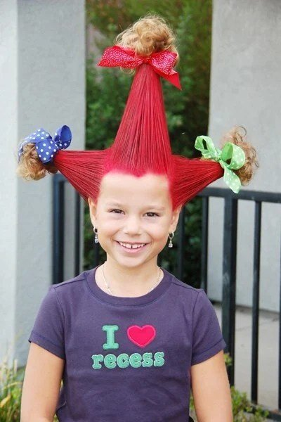 Free 30 Ideas For Crazy Hair Day At School For Girls And Boys Wallpaper