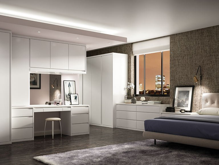 Best Luxury Fitted Bedroom Furniture Built In Wardrobes With Pictures