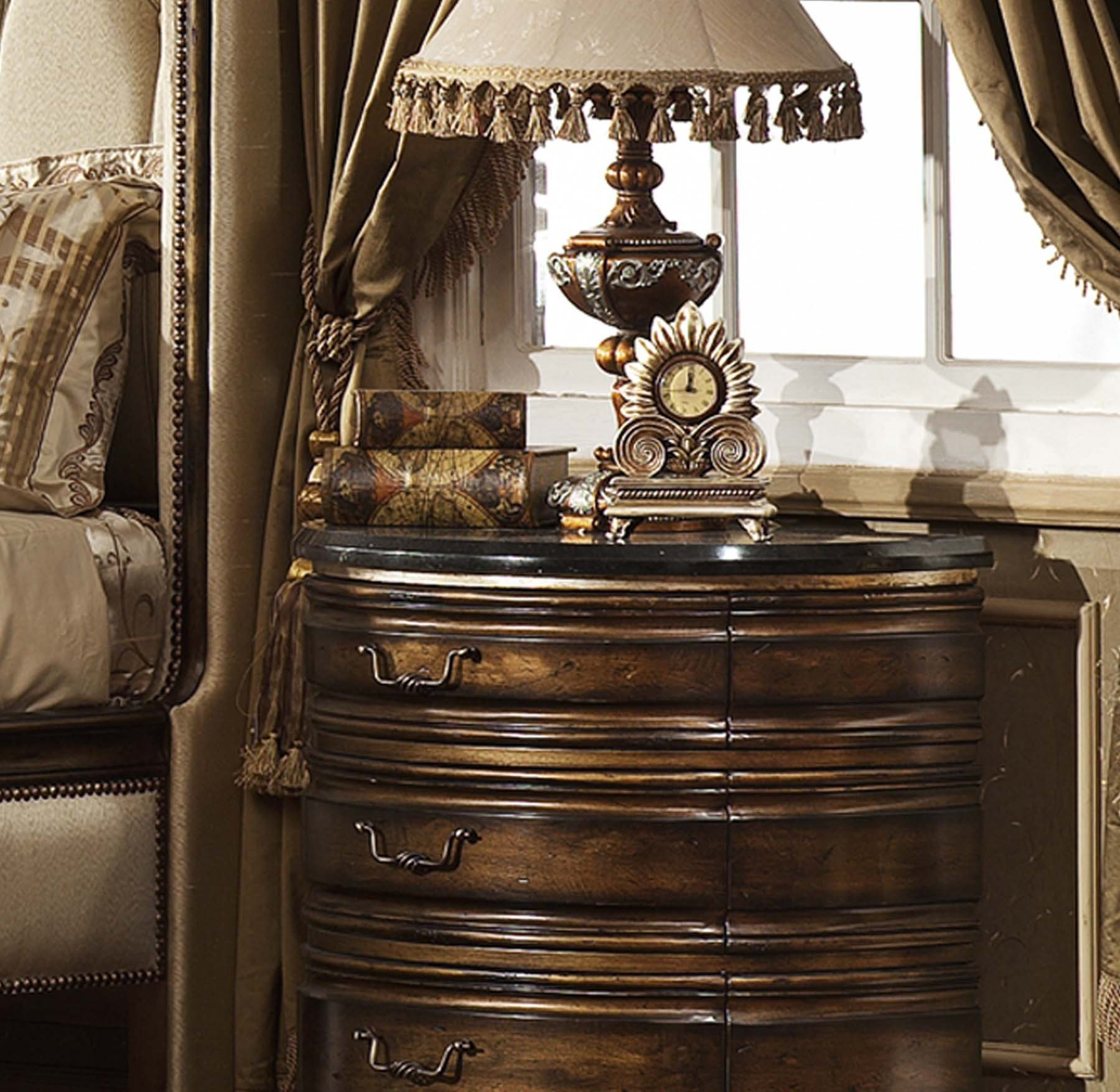 Best Oxford Nightstand W Granite Top Marble And Granite With Pictures