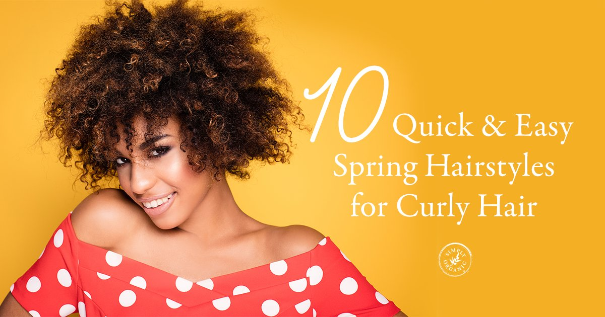 Free 10 Quick Easy Spring Hairstyles For Curly Hair Simply Wallpaper