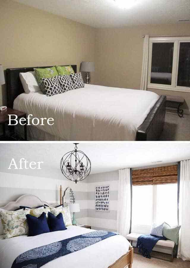 Best Awesome Bedroom Makeovers Before And After Pics With Pictures