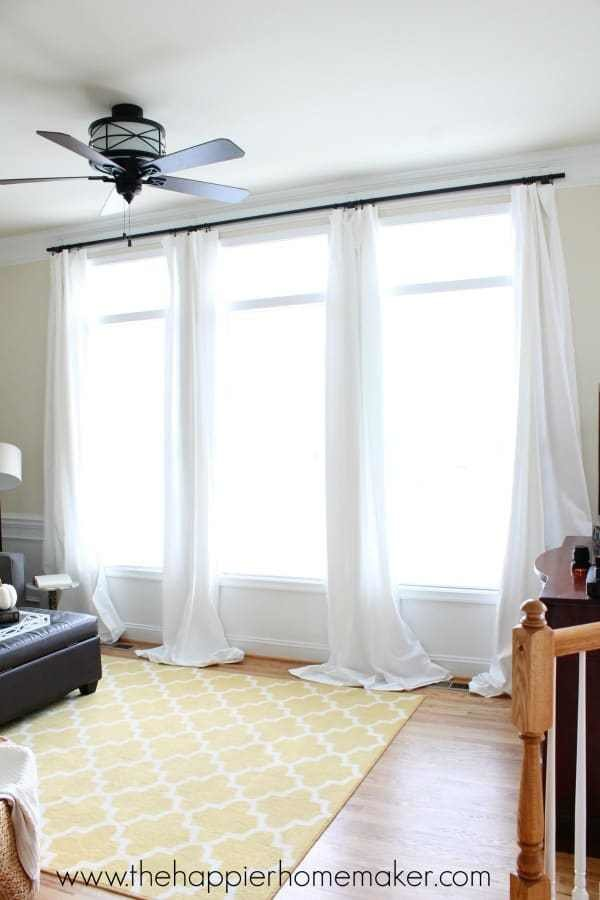 Best How To Hang Curtains Without Holes Renter Friendly Window With Pictures