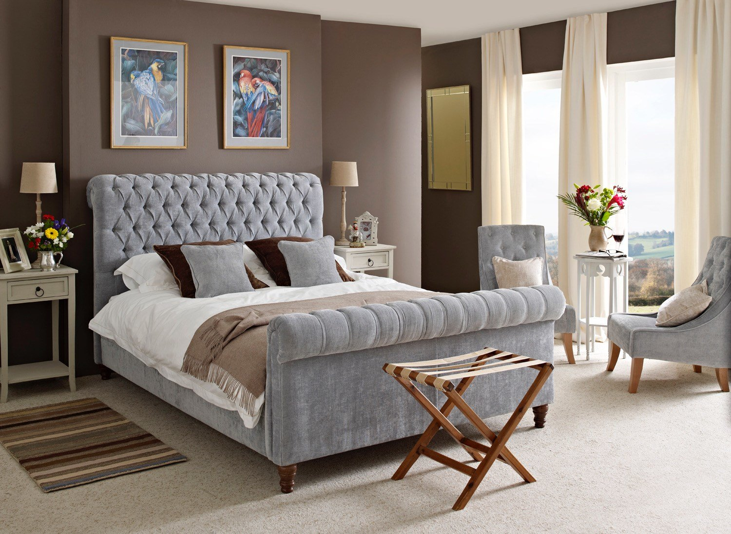 Best How To Decorate A Small Bedroom With A King Size Bed – The Headboard Workshop Bedroom Design Advice With Pictures