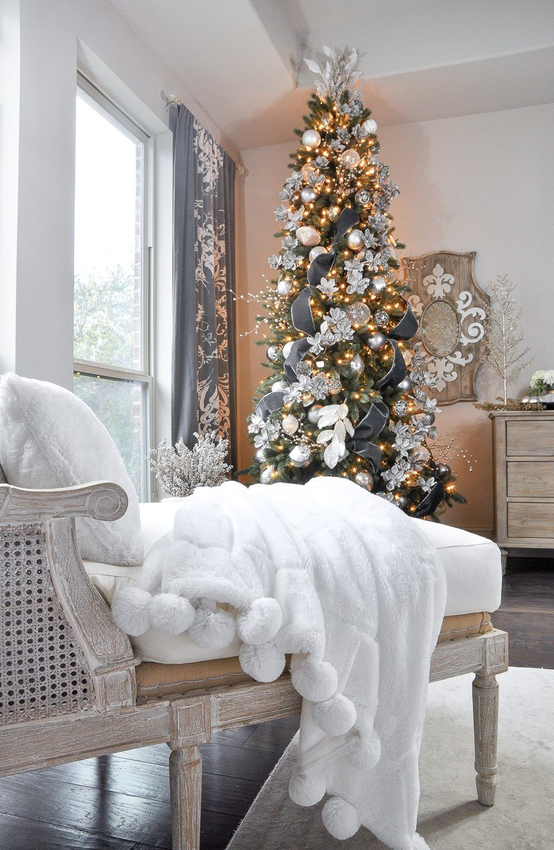 Best Deck The Halls Christmas Home Tour Bedroom Decor Gold With Pictures