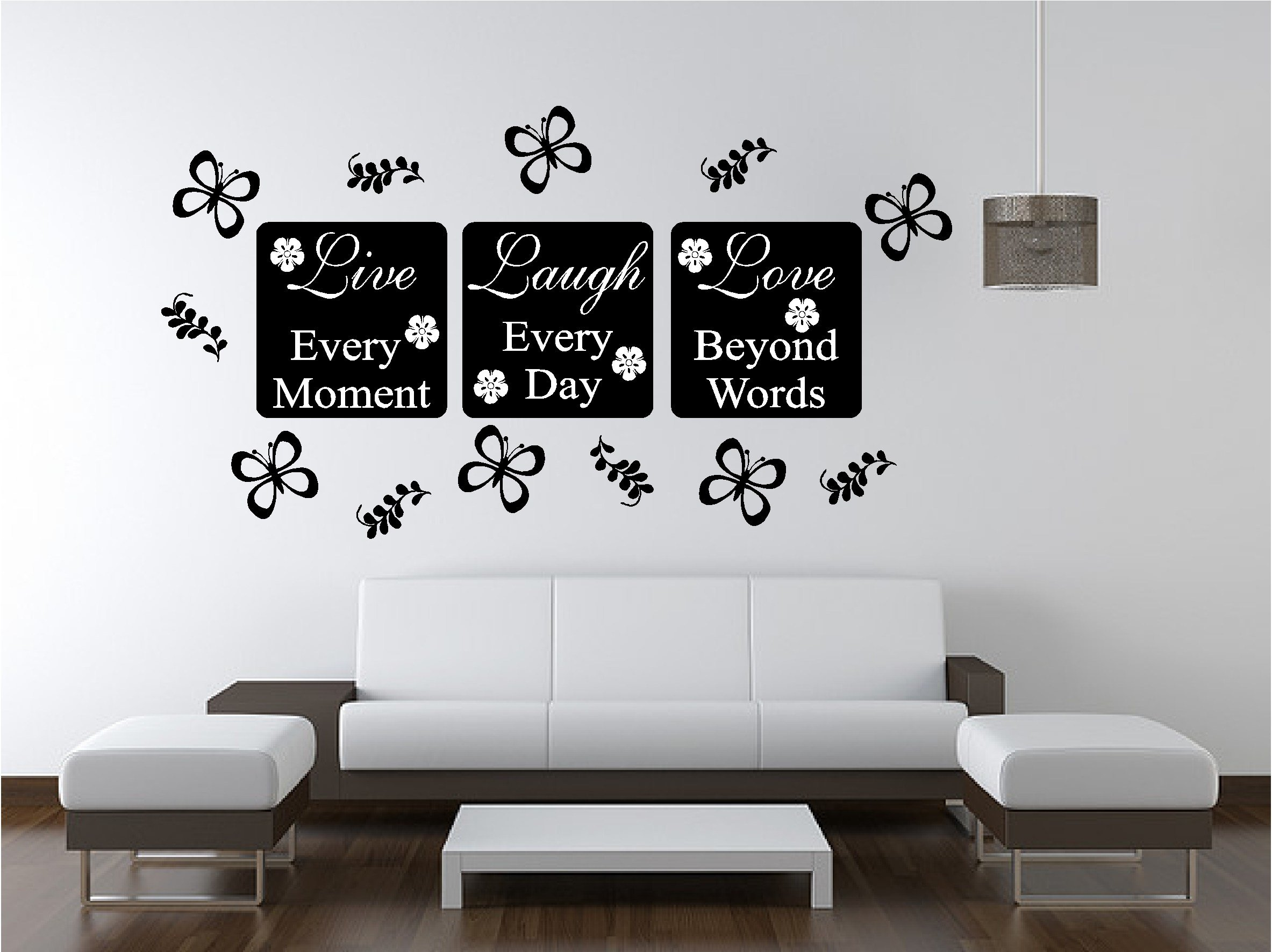 Best Live Love Wall Art Sticker Quote Bedroom Lounge Kitchen Ebay With Pictures