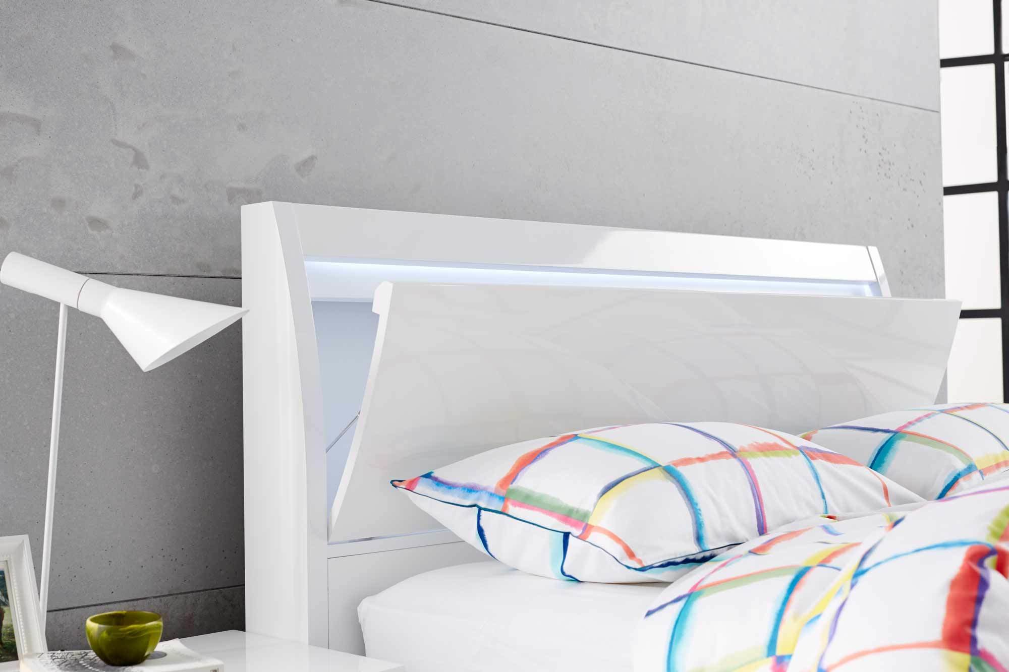 Best Chicago Bed Frame White Bedroom Furniture Forty Winks With Pictures