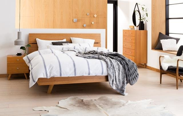 Best Miami Bed Frame Natural Bedroom Furniture Forty Winks With Pictures