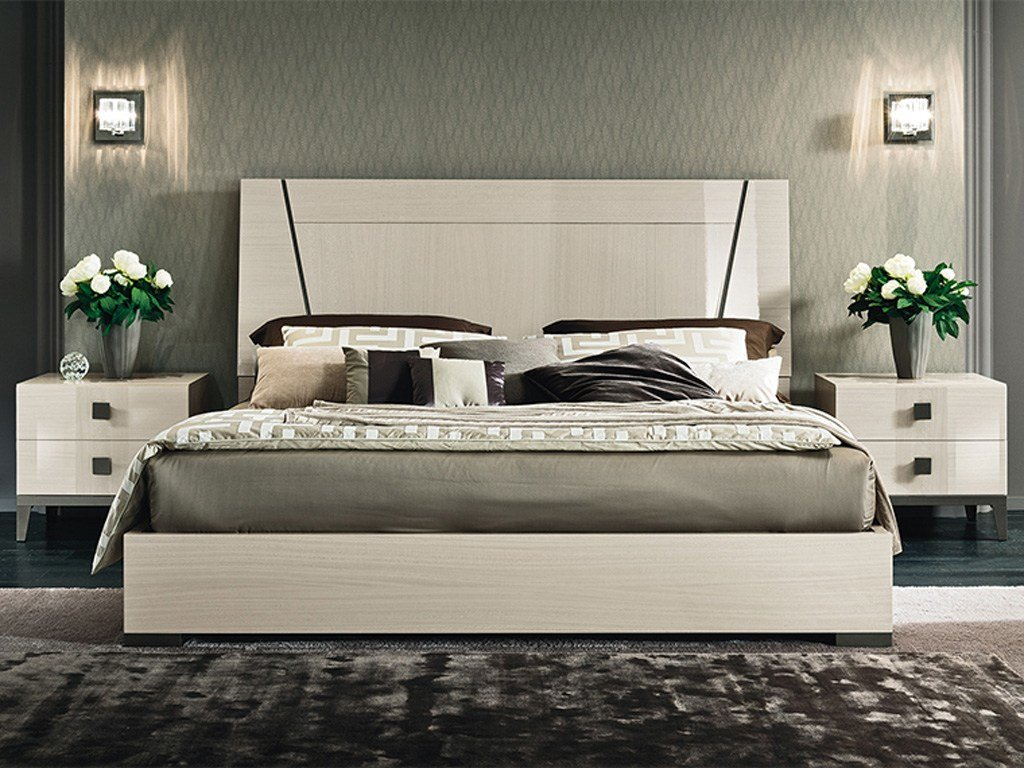 Best Alf Mont Blanc Qs Bedroom Set Contemporary Modern With Pictures