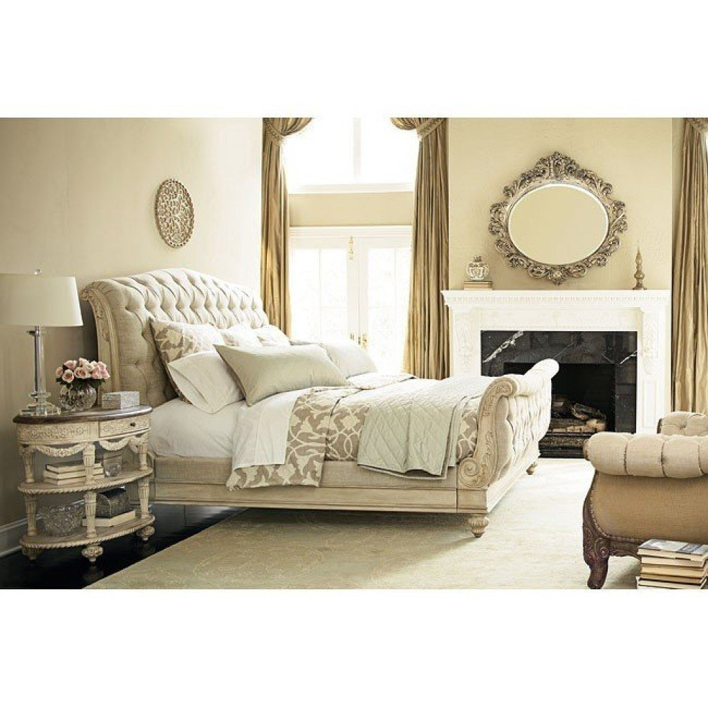 Best Jessica Mcclintock The Boutique Sleigh Bedroom Set White With Pictures