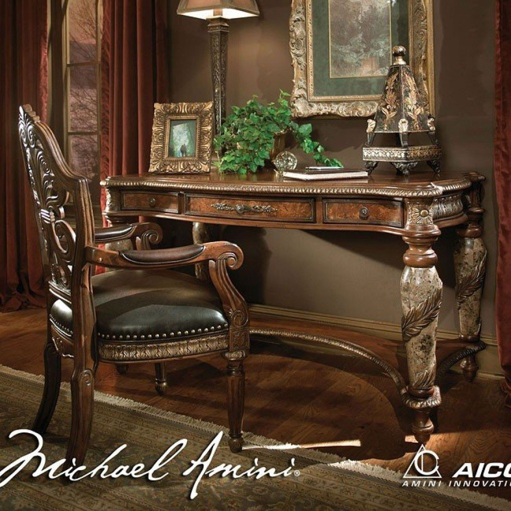 Best Villa Valencia Poster Bedroom Set Aico Furniture 1 With Pictures