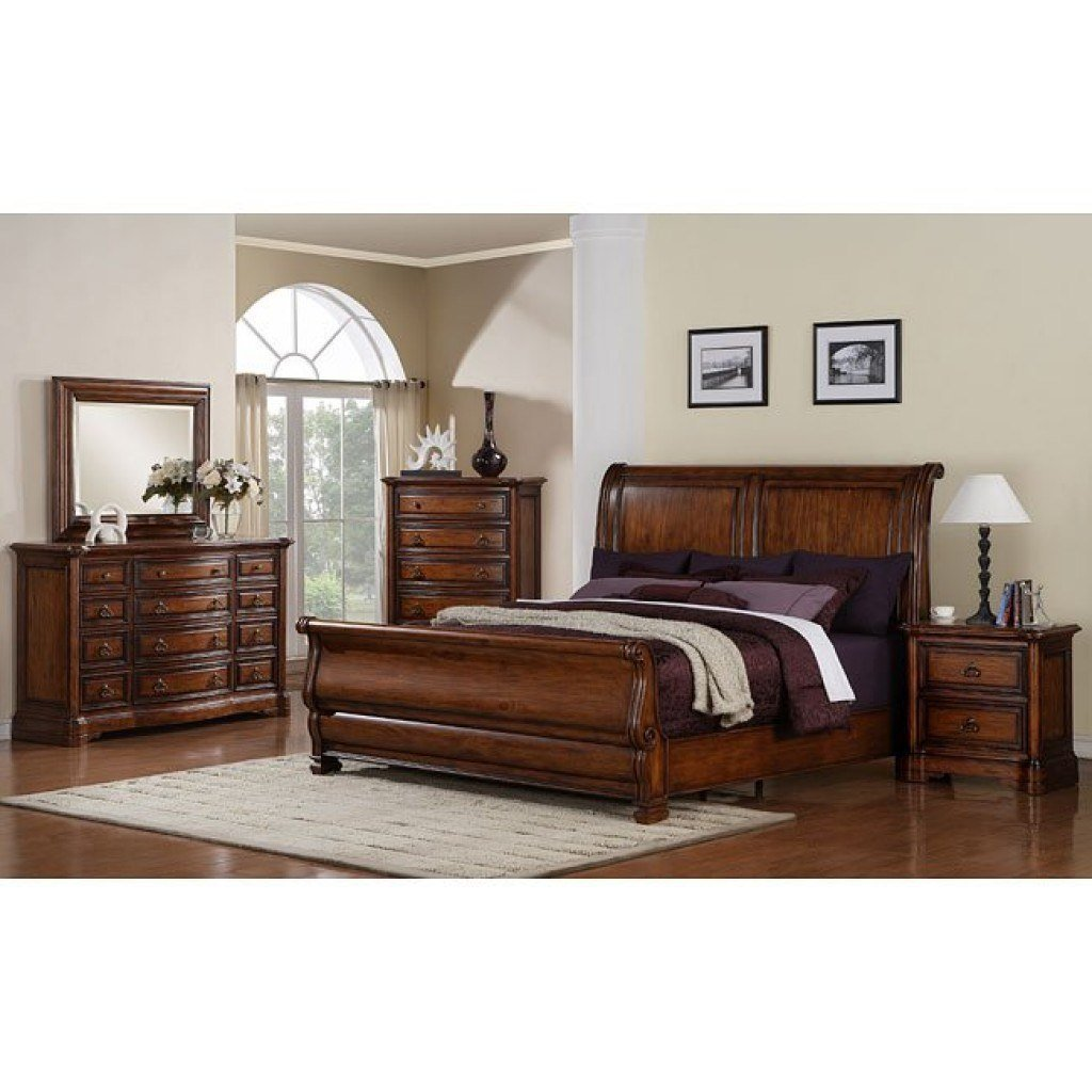 Best Oxford Sleigh Bedroom Set Samuel Lawrence Furniture With Pictures