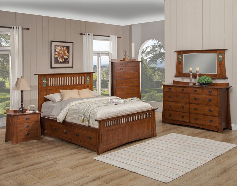 Best The Trend Manor Arts And Crafts Bungalow Storage Bed Is With Pictures