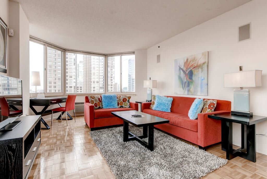 Best Jersey City Furnished 1 Bedroom Apartment For Rent 7080 With Pictures