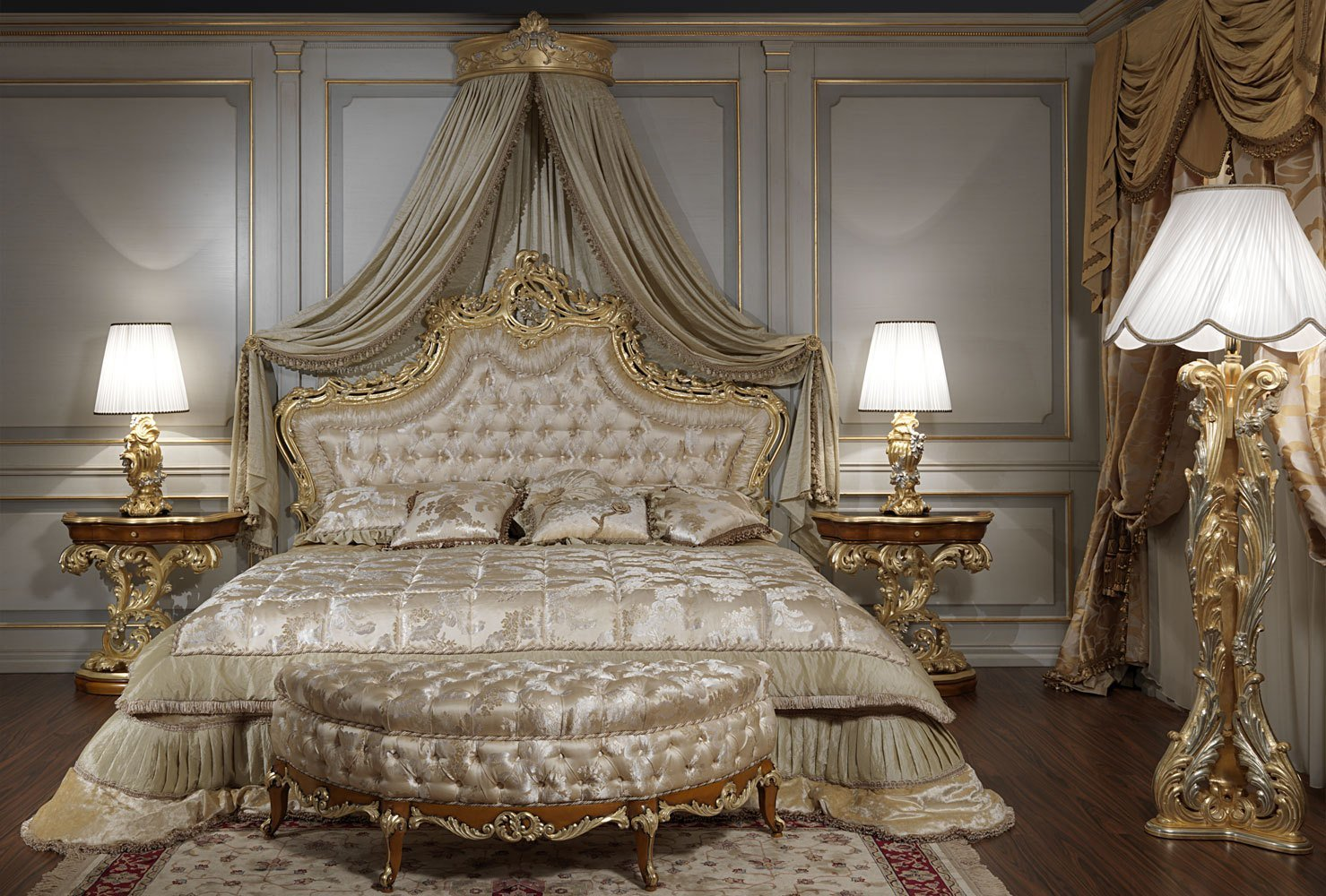 Best Luxury Classic Bedroom Roman Baroque Style With Pictures