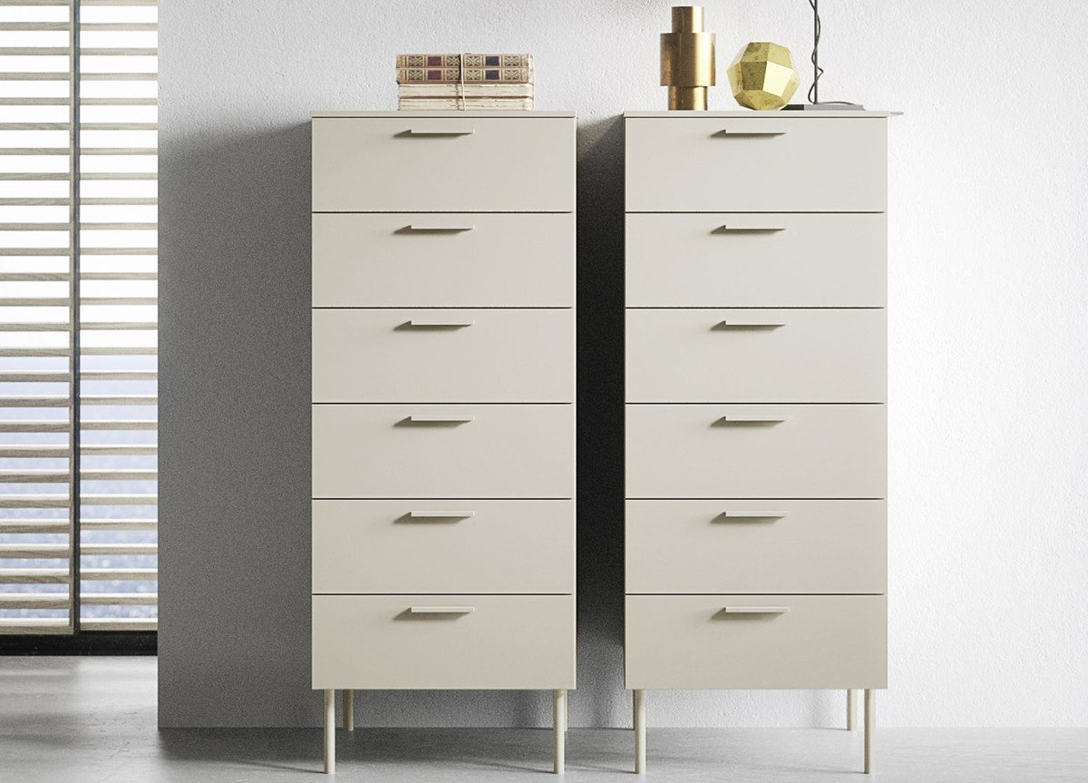 Best Praga Tall Chest Of Drawers Contemporary Bedroom With Pictures