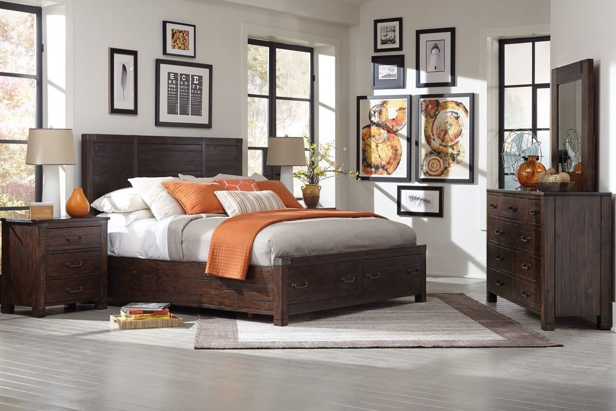 Best Hillport 5 Piece King Bedroom Set With 32 Tv At Gardner White With Pictures