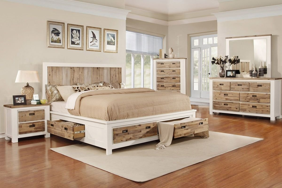 Best Western 5 Piece King Bedroom Set With 32 Led Tv At With Pictures
