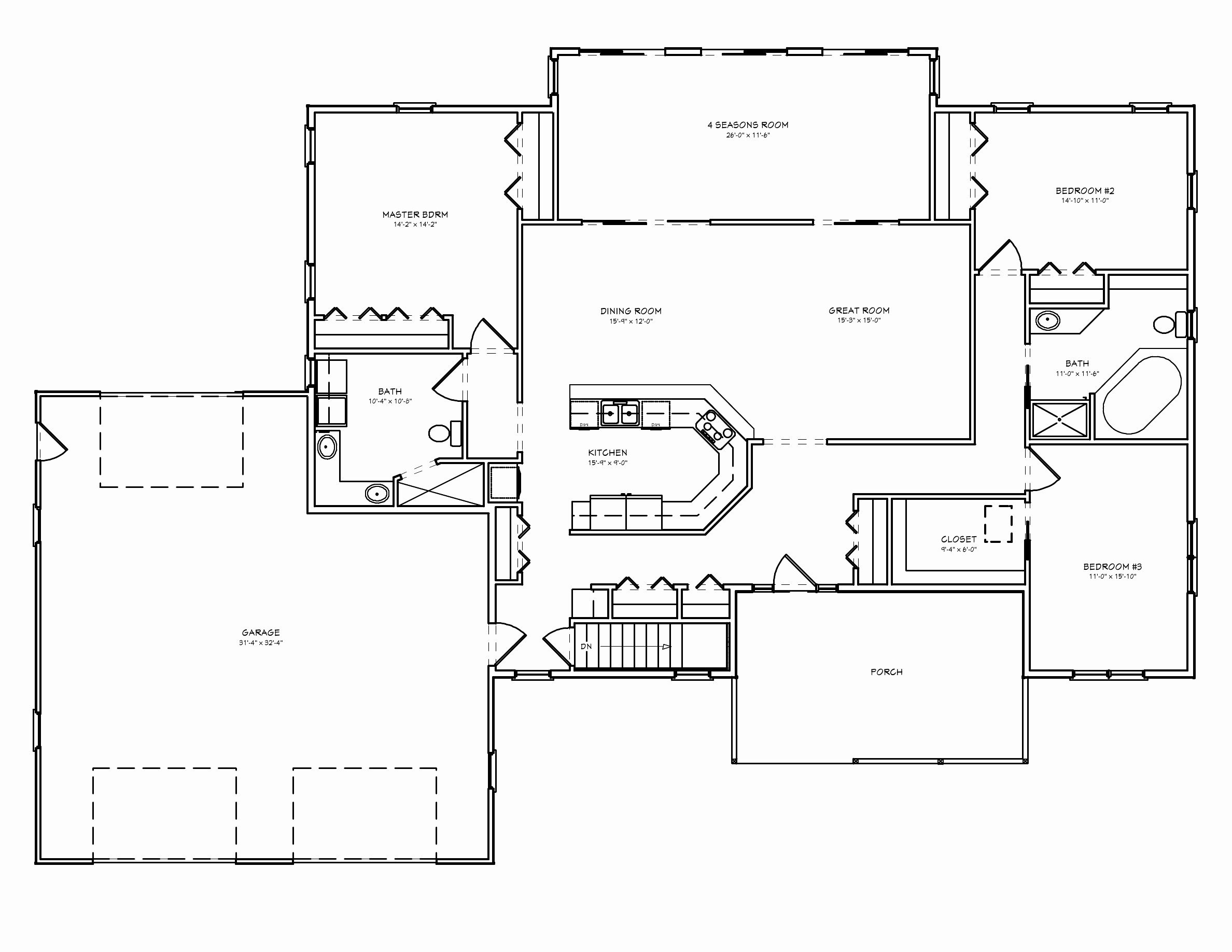 Best Ranch House Plans With Basement 3 Car Garage Door Ideas — Awesome House Designs With Pictures