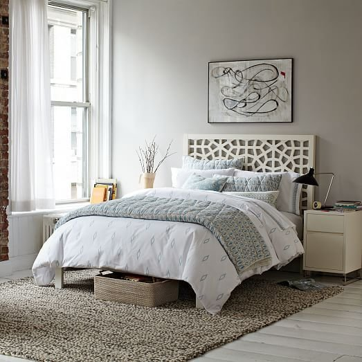 Best Morocco Bed White West Elm With Pictures