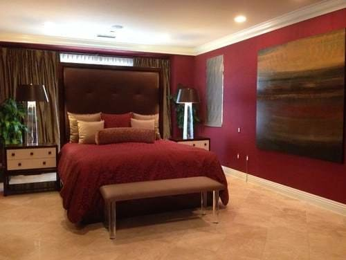 Best 20 Red Master Bedroom Ideas For 2019 With Pictures