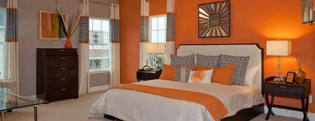Best Colors That Go Well With Orange For Interior Design In 2019 With Pictures