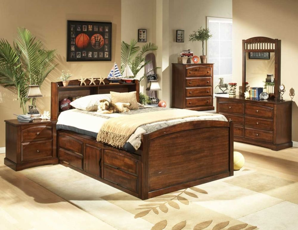 Best Wood Youth Full Size Bedroom Sets With Nautical Theme With Pictures