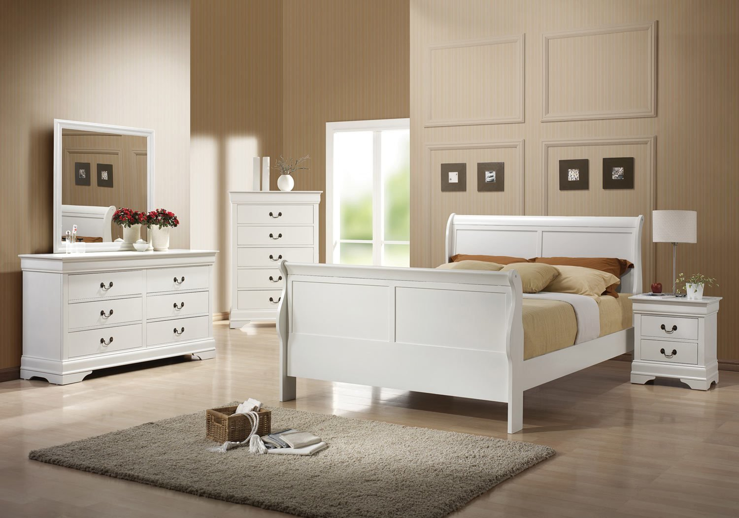 Best Coaster Louis Philippe Bedroom Collection White 204691 With Pictures