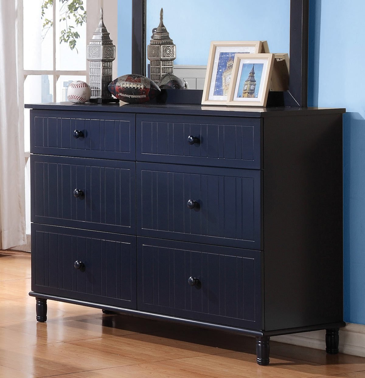 Best Coaster Zachary Bedroom Set Navy Blue 400691 Bed Set At With Pictures