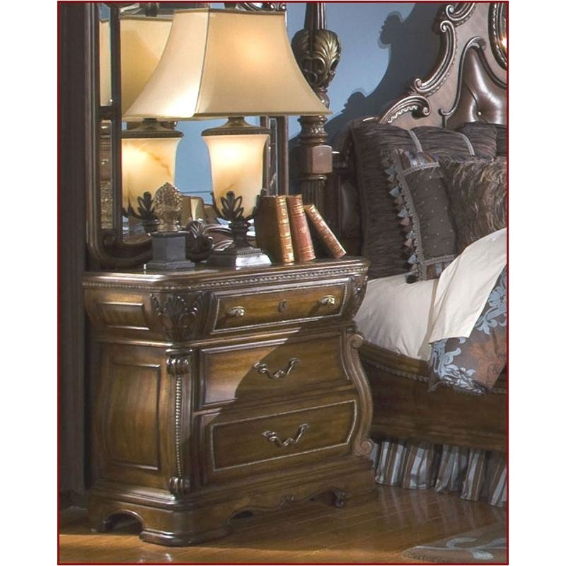 Best 57040 51 Aico Furniture Sovereign Bedroom Nightstand With Pictures