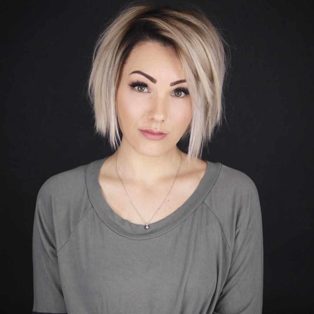 Free 60 Short Hairstyles For Round Faces 2018 2019 » Hairstyle Wallpaper