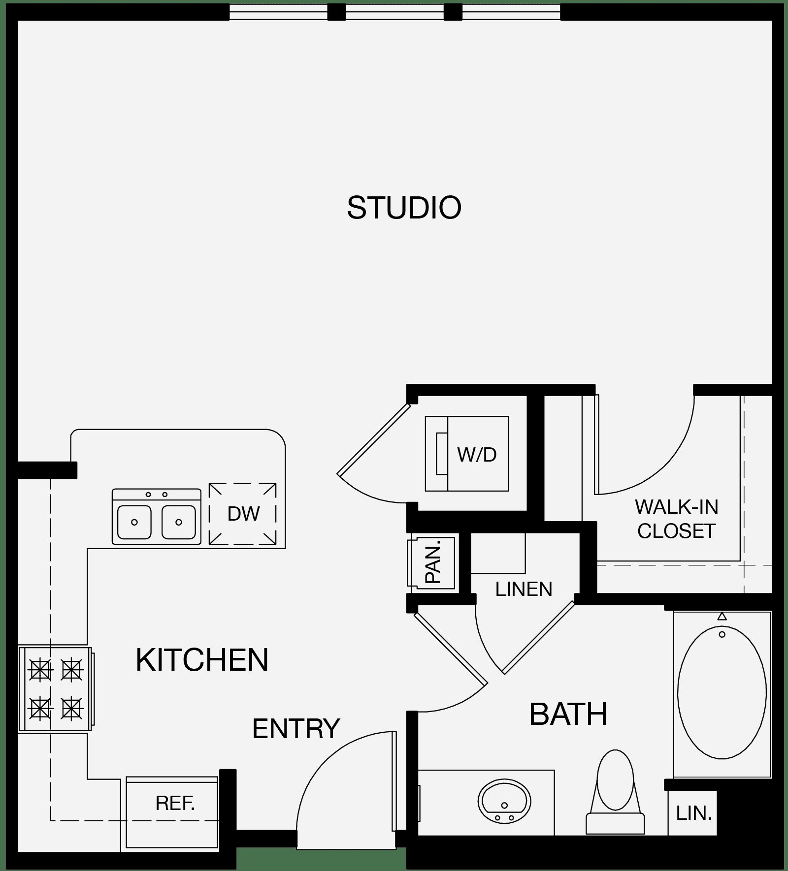 Best Studio One Two Bedroom Apartments In Glendale Layouts With Pictures