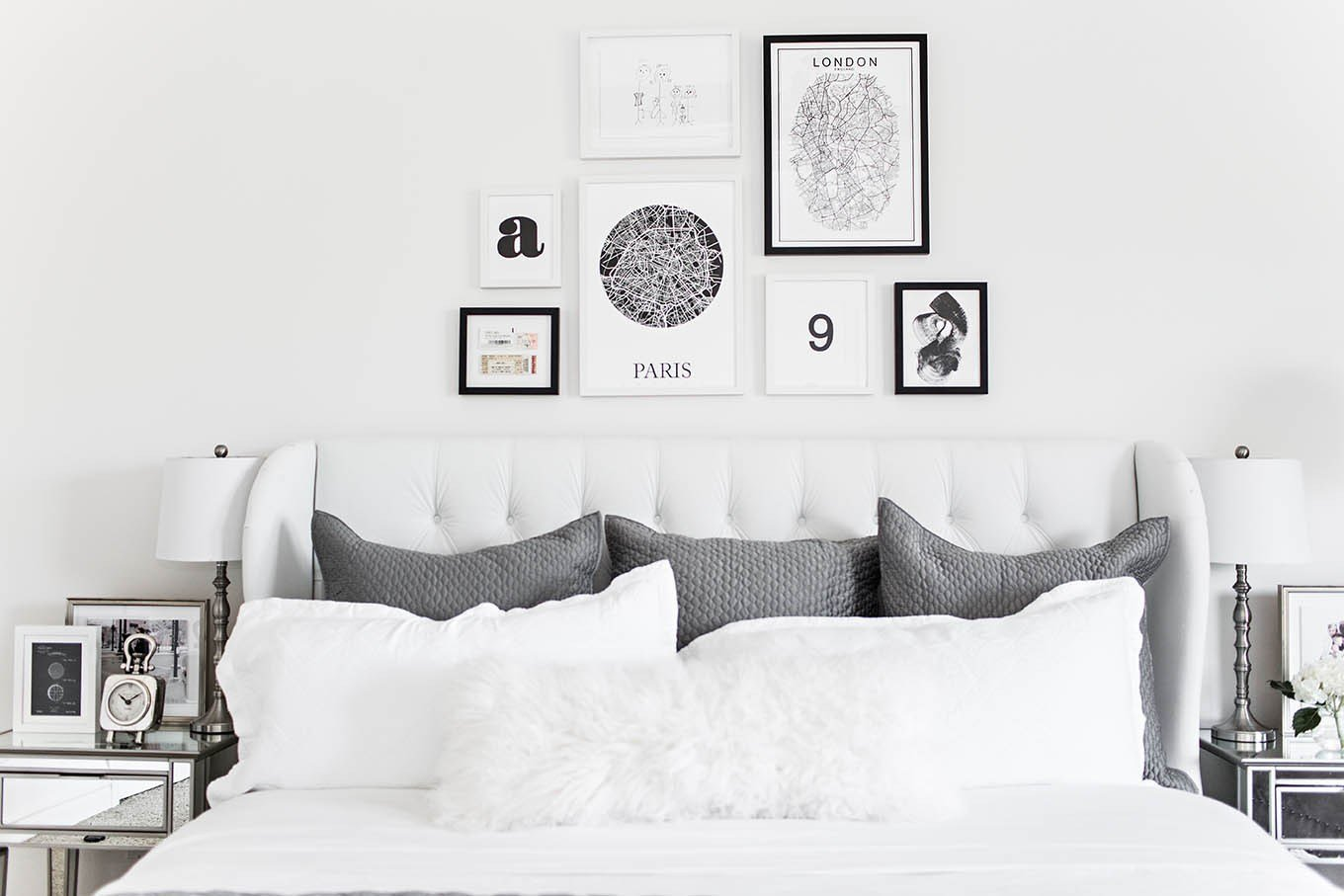 Best Bedroom Gallery Wall Hello Fashion With Pictures