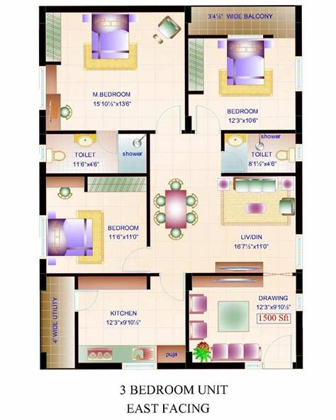 Best Floor Plan Amulya Constructions Amulya Fortune At With Pictures