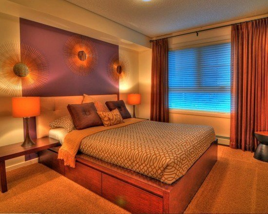 Best Purple Gold And Cream Bedroom Interiors By Color With Pictures