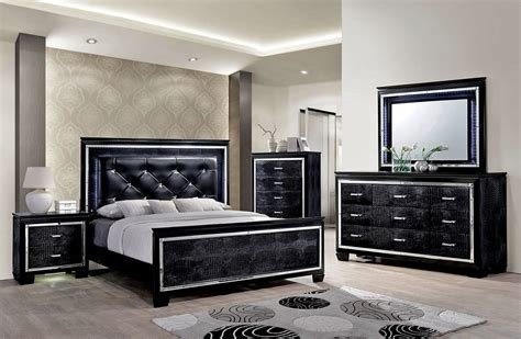 Best Classic Elegance Black Bedroom Furniture Bedroom With Pictures