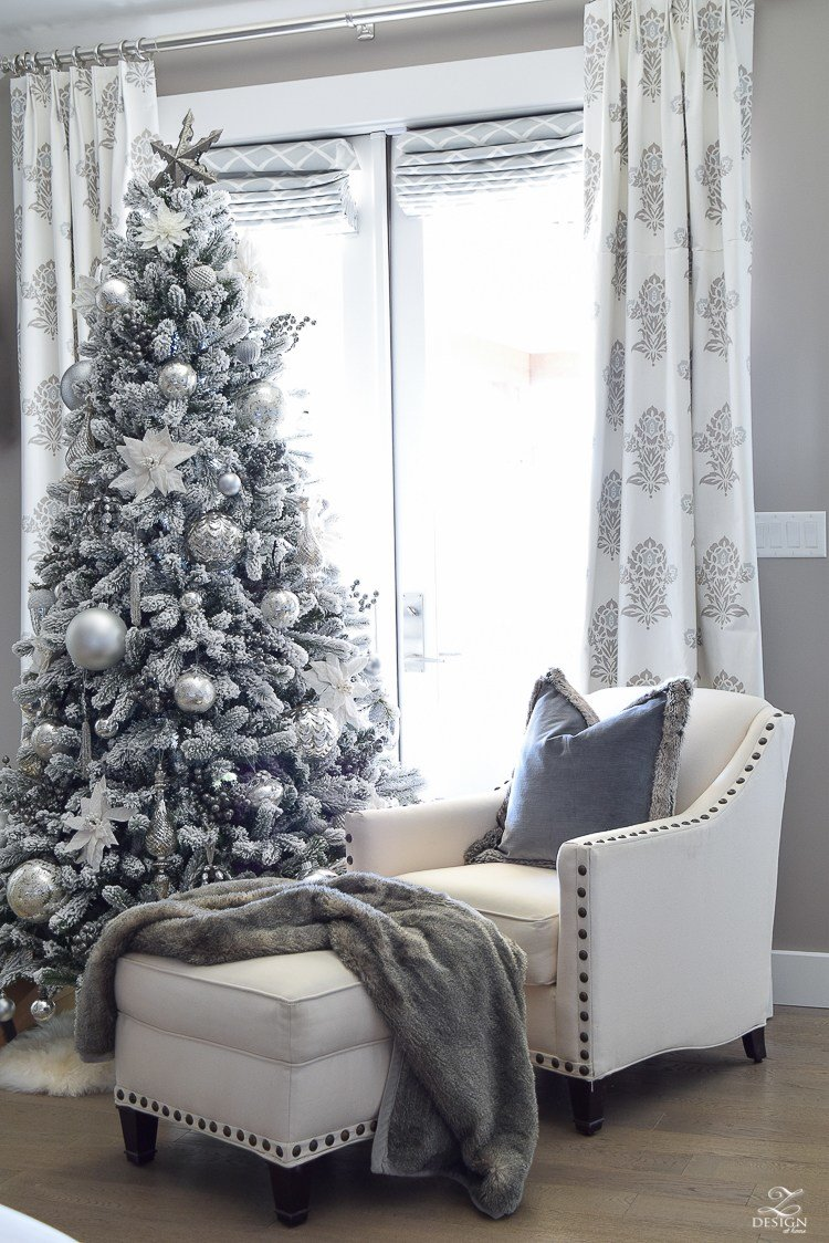 Best Decked Styled Holiday Tour A Christmas Bedroom With Pictures