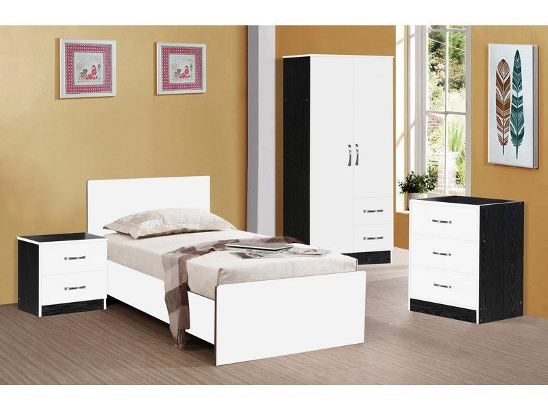 Best Red And Black High Gloss Bedroom Furniture Khabars Net With Pictures