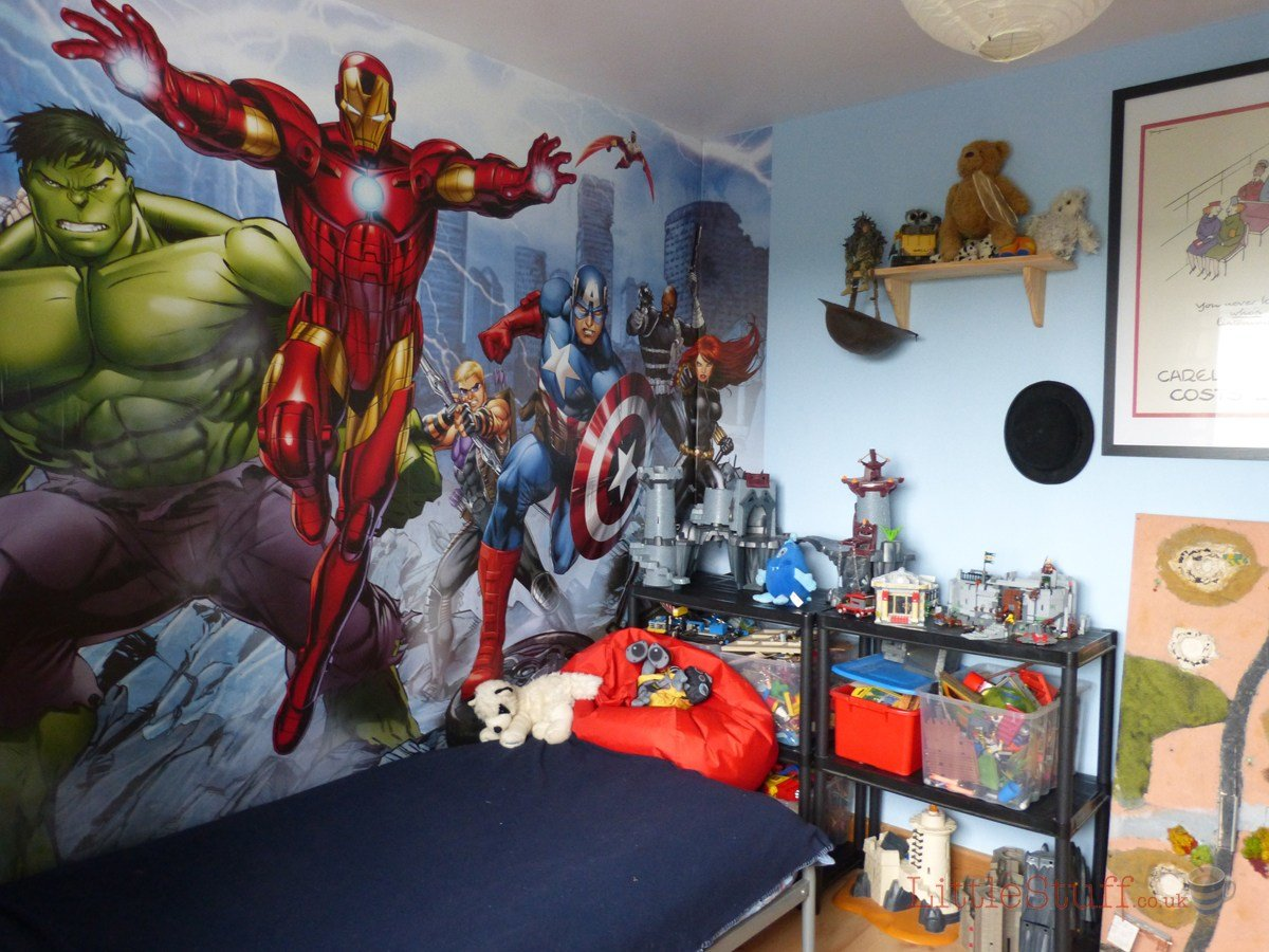 Best Dulux Marvel Avengers Bedroom In A Box Officially Awesome With Pictures