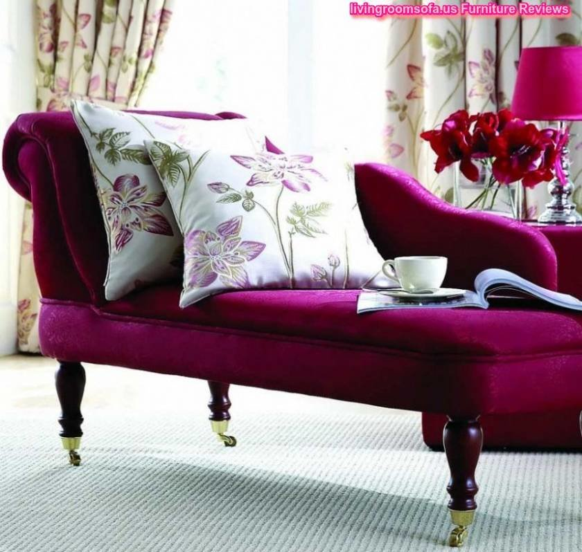 Best Beautiful Purple Chaise Lounge Couch For Bedroom Idea With Pictures